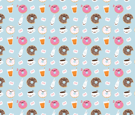 Do or Donut fabric by milktooth on Spoonflower - custom fabric