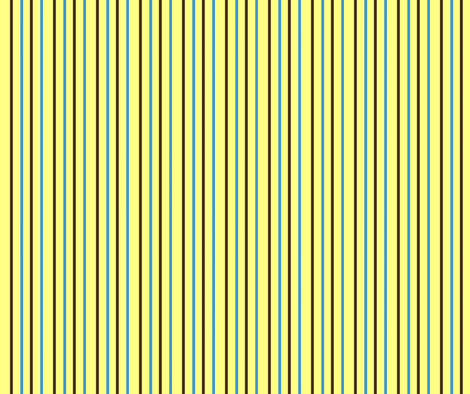 Spotty Stripes-- Yellow fabric by winter on Spoonflower - custom fabric