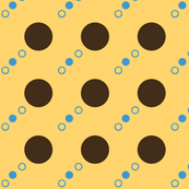Spotty Spots-- Orange