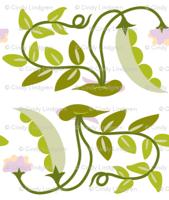 peas & blossoms