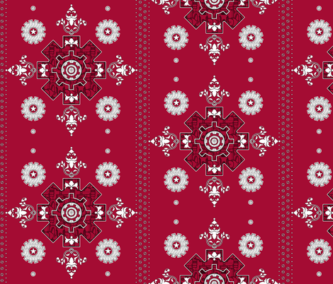Steampunk Hanky fabric by jadegordon on Spoonflower - custom fabric