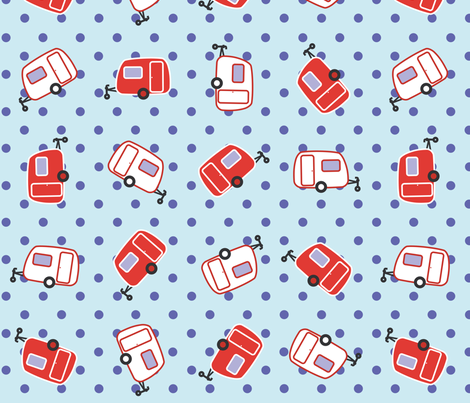 Caravan fabric by craftosia on Spoonflower - custom fabric