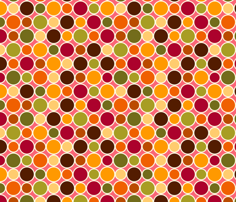 Summer Dots Sweet fabric by cyoungquist on Spoonflower - custom fabric