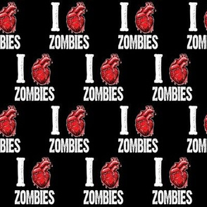 I love zombies black