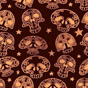 Small Skulls Dark