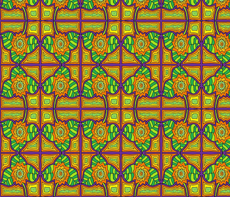 TexMex Beauty fabric by societydeb on Spoonflower - custom fabric