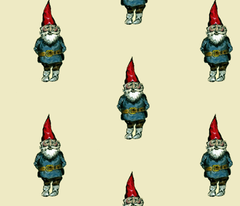 Gnome fabric by taraput on Spoonflower - custom fabric
