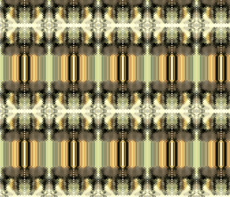 Nature's Stripe fabric by alpaca_lady on Spoonflower - custom fabric