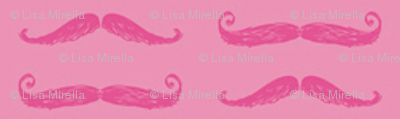 Secret Stache - Pink