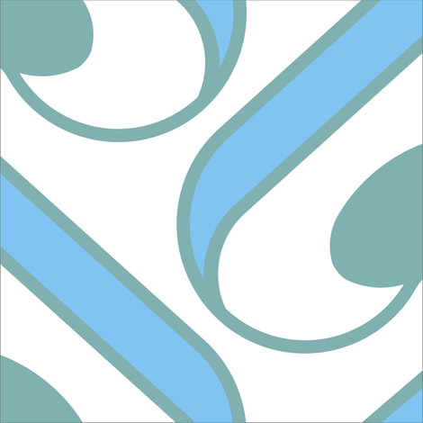 cuba tile 2 fabric by dl on Spoonflower - custom fabric