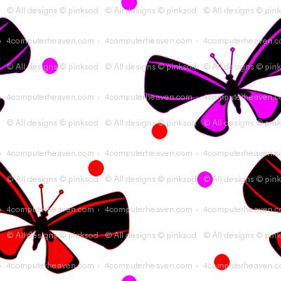Flutter Dots! - - © PinkSodaPop 4ComputerHeaven.com