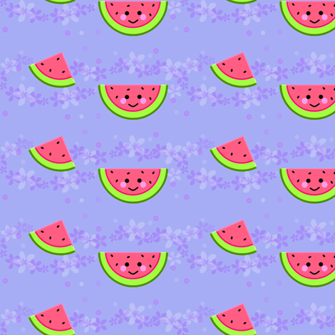 Watermelon! - Hawaii Kawaii Sweet Fruits - © PinkSodaPop 4ComputerHeaven.com