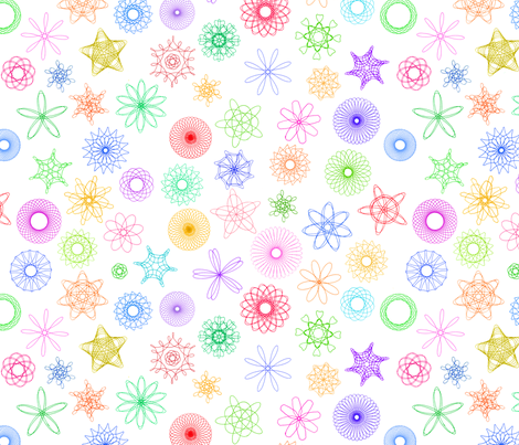 spirograph designs! fabric by weavingmajor on Spoonflower - custom fabric