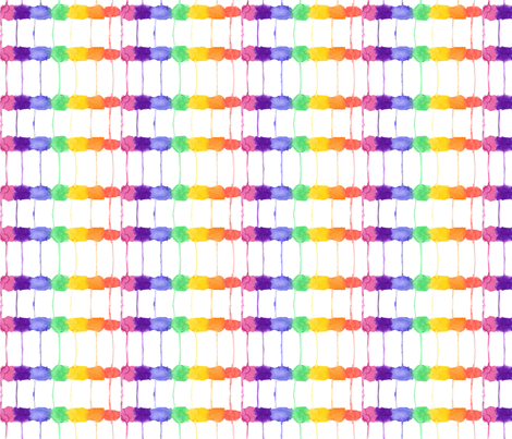 Leaky Rainbow 2 fabric by wiccked on Spoonflower - custom fabric