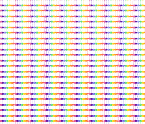 Leaky Rainbow 1 fabric by wiccked on Spoonflower - custom fabric