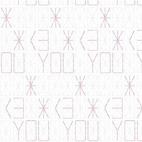 <3 You Digital Display Board