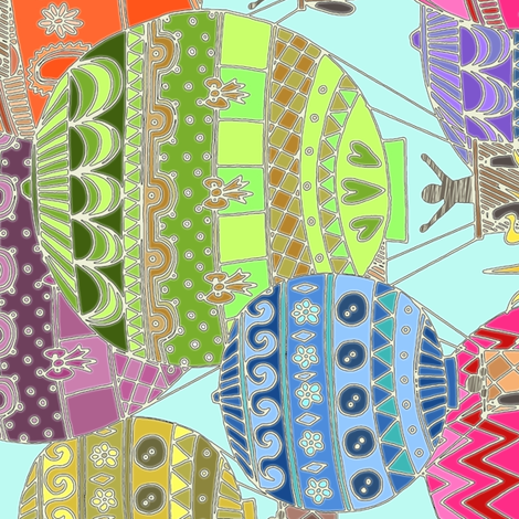 candy sky 90° fabric by scrummy on Spoonflower - custom fabric
