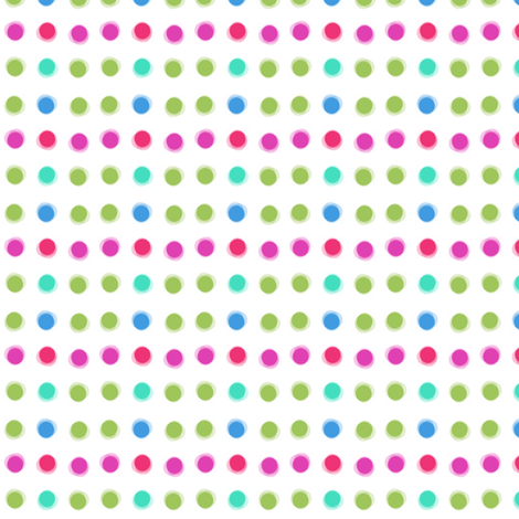 Poke Me Dots! - Polka Dotted (Please ZOOM these are no ordinary dots!) - © PinkSodaPop 4ComputerHeaven.com fabric by pinksodapop on Spoonflower - custom fabric