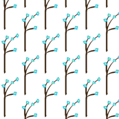Spring Has Sprung-- Blue Blossom