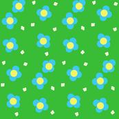 Spring Has Sprung-- Blossom Field