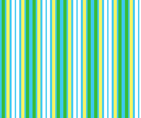 Spring Has Sprung-- Stripes 2 fabric by winter on Spoonflower - custom fabric