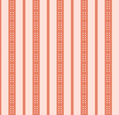 Button Blooms-- Light Pink Stripes