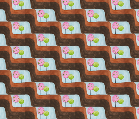 Spring Park fabric by gurgleturtle on Spoonflower - custom fabric