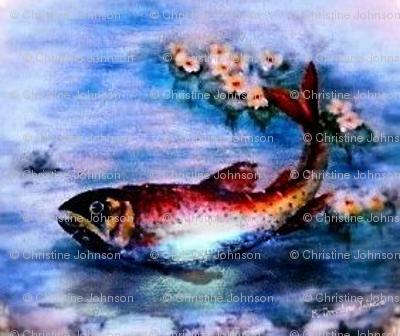 Fleur-de-lis trout
