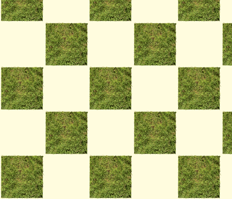 grass check fabric by avelis on Spoonflower - custom fabric
