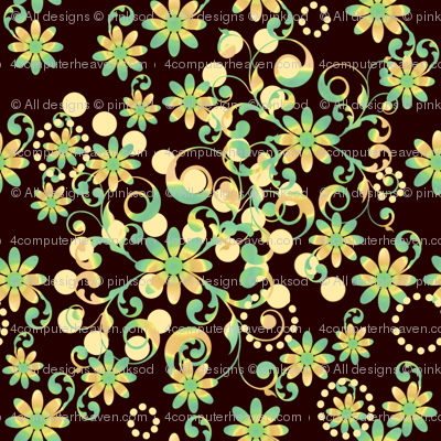 Mystic Flower Garden -  © PinkSodaPop 4ComputerHeaven.com