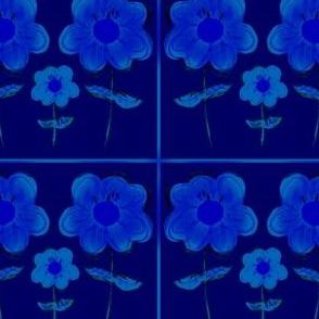 Flowers: Blue mist