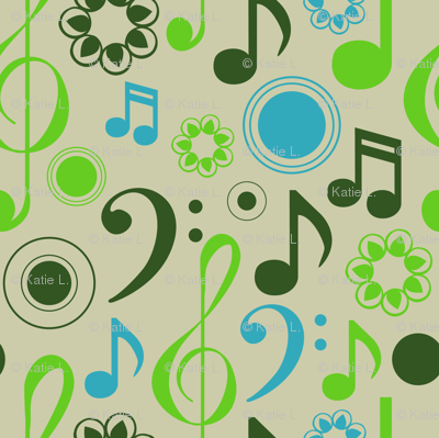 Music Notes and Clefs