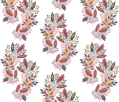 pomegranate single bunch fabric by eva_the_hun on Spoonflower - custom fabric
