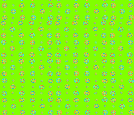 Tropical clovers fabric by lyndsey2360 on Spoonflower - custom fabric