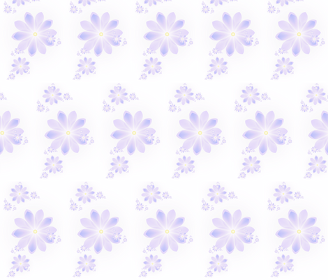 Lavender Lost fabric by winter on Spoonflower - custom fabric