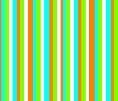 Tropical stripes fabric by lyndsey2360 on Spoonflower - custom fabric