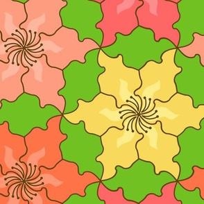 Hibiscus Tessellation