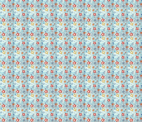 Star Drops fabric by lari on Spoonflower - custom fabric
