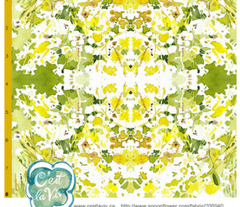 "C'EST LA VIVâ""¢ Garden Lark Collection_YELLOW AND WHITE"