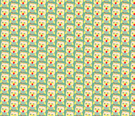owl fabric by heidikenney on Spoonflower - custom fabric