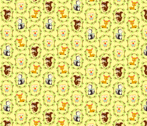 storybook forest fabric by heidikenney on Spoonflower - custom fabric