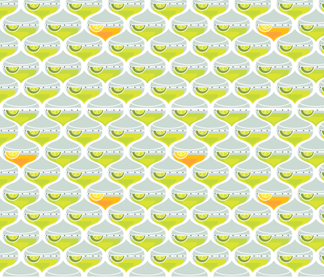Margaritas fabric by cynthiafrenette on Spoonflower - custom fabric