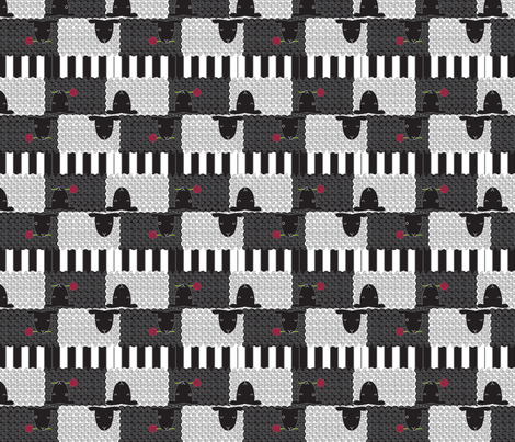 Black Sheep fabric by jenimp on Spoonflower - custom fabric