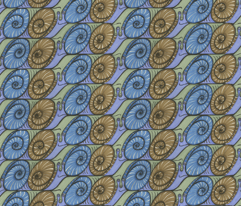 Tess-cargot fabric by ceanirminger on Spoonflower - custom fabric