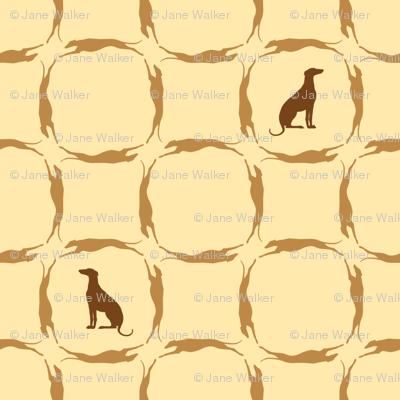 Golden Brown Greyhounds GG5   ©2010 by Jane Walker ©2010 by Jane Walker