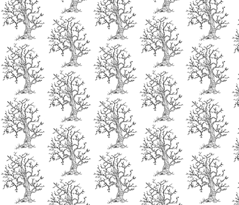 In the Woods fabric by redhange on Spoonflower - custom fabric