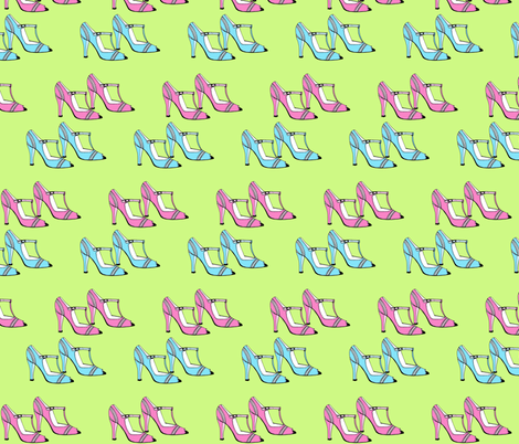 Mary Jane's Addiction fabric by creedancelovesyou on Spoonflower - custom fabric
