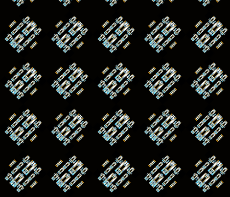 Art Deco Collection Bias fabric by joanmclemore on Spoonflower - custom fabric