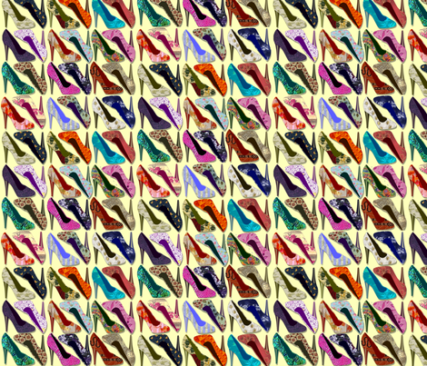 spoonflower_high_heels fabric by thursday_next on Spoonflower - custom fabric