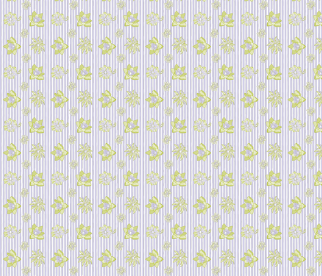 haleyflowers-01 fabric by thehandmadehome on Spoonflower - custom fabric